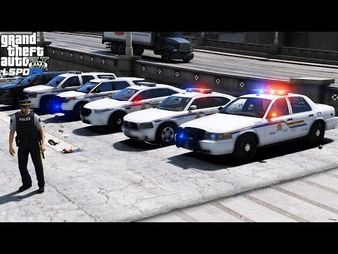 GTA 5 LSPDFR Police Mod 413   RCMP Is Back   Live Patrol With The Royal Canadian Mounted Police