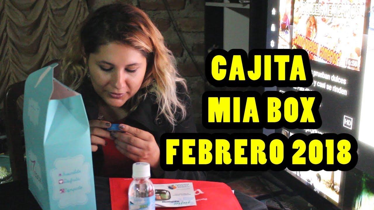 Miabox Febrero 2018 - LO QUE RECIBI - ME ENCANTA!