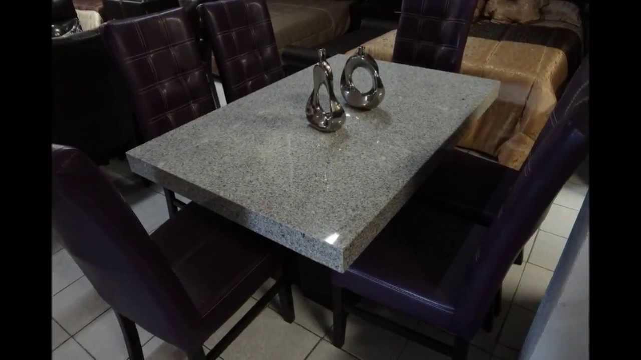 Comedores en monterrey salas en monterrey youtube for Comedor 6 sillas coppel