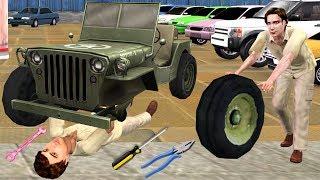 कार चोर Car Thief Mechanic हिंदी कहानिया Hindi Kahaniya Funny Village Comedy Video