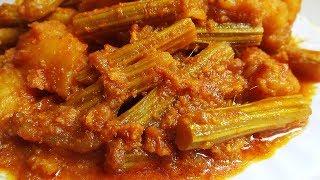 Masala Sojne – Bengali Drumstick Masala Curry Recipe    Simple and Easy Bengali Veg Recipes