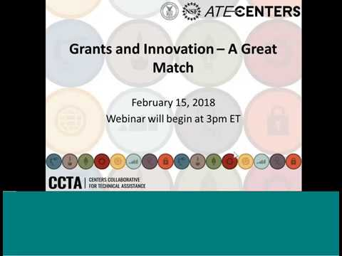 Grants and Innovation - A Great Match (Updated)