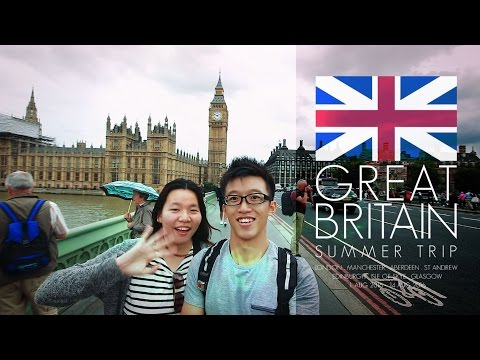 Great Britain Summer Trip [120 Amazing Destinations] [HD]