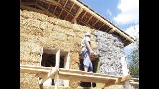 Kuća od slame straw bale house Vrmdža