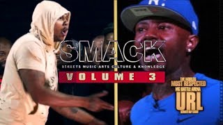 NUJERZEY TWORK VS RUM NITTY GET'S PHYSICAL LIVE RECAP SMACK VOL. 3
