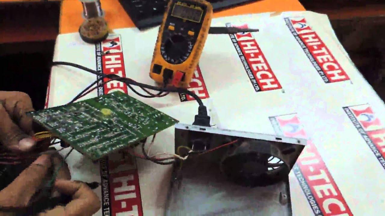 Hi-Tech - Hardware Repairing Course Institute in Delhi SMPS Repair ...