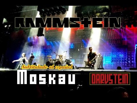 Rammstein - Moskau (Subtitulado al Español) (Live 2016)