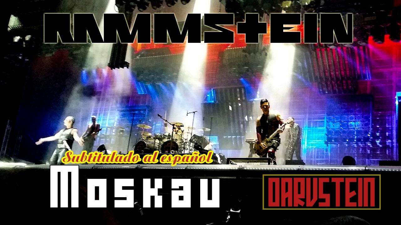 Rammstein - Moskau (Subtitulado al Español) (Live 2016 ...