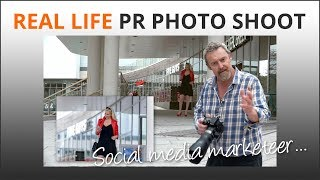 Social Media PR Photo Shoot in Bournemouth - Mike Browne