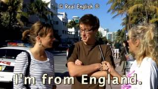 Real English® 3 b What s your name Can you spell it Where are you from 2011 Update1