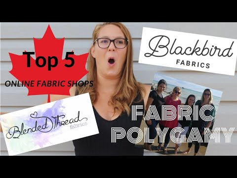 5 Favourite Online Fabric Shops In Canada