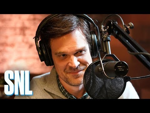 Father-Son Podcasting Microphone - SNL
