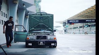volvo 240 with bbs 17x10jj