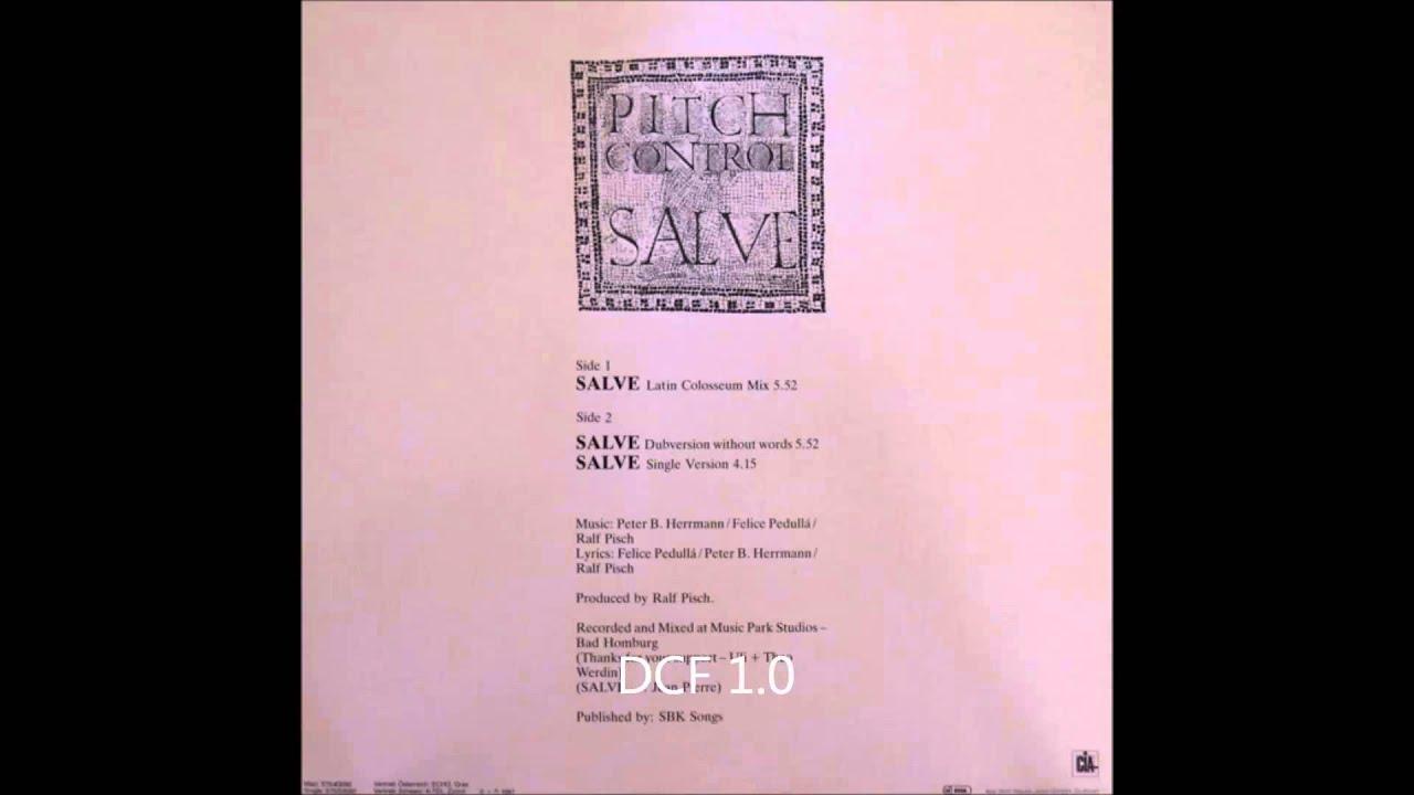 PITCH CONTROL - Salve (1988)