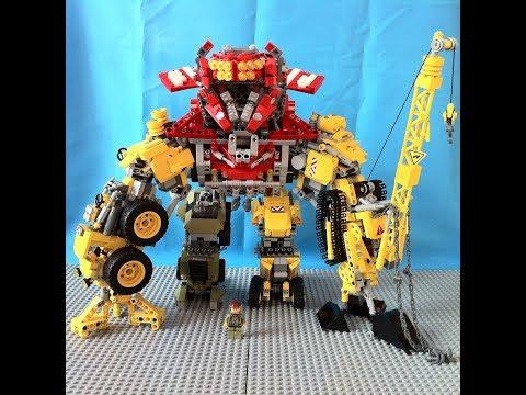 LEGO Devastator 2.0 from the Revenge of the Fallen 2009 film (My Own Creation)