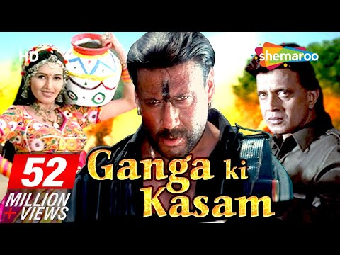Ganga Ki Kasam {HD} - Mithun Chakraborty - Jackie Shroff - Hindi Full Movie - (With Eng Subtitles)
