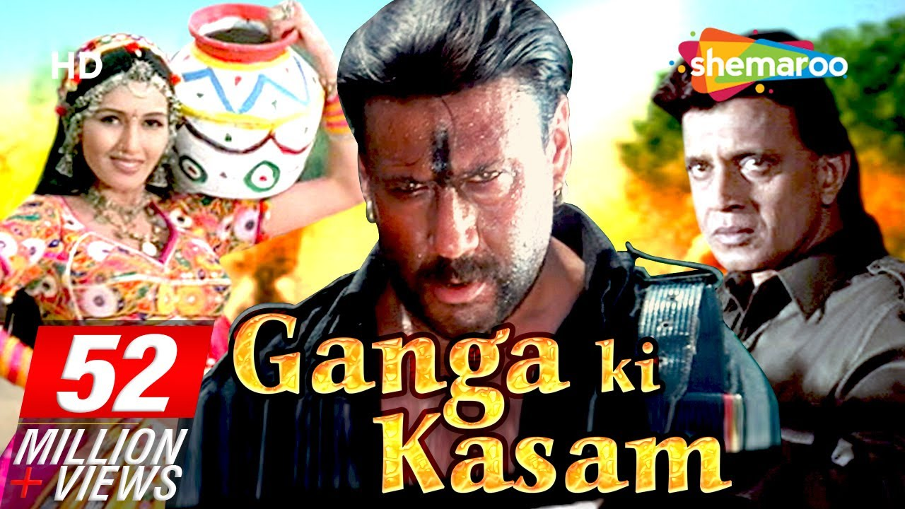 ganga ki kasam {hd} - mithun chakraborty - jackie shroff - hindi