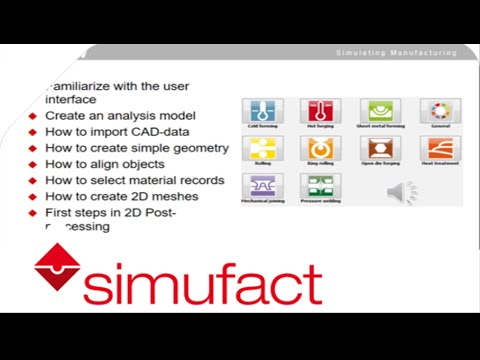 MSC Simufact Forming Free Download