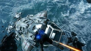 Star Citizen AC 1.1.1 PTU - Defending my Constellation in multiplayer!