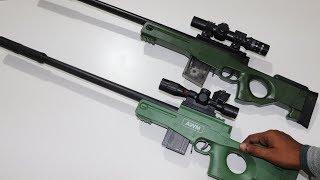 PUBG & Freefire AWM Toy Gun Unboxing & Testing - Chatpat toy tv