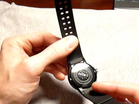 Nite MX10-201 tritium military watch - YouTube 01fd1343f00c