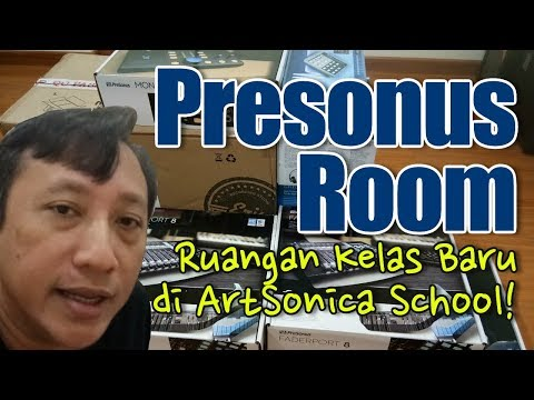 #PresonusRoom, Ruangan Kelas Baru Di Sekolah ArtSonica Kelapa Gading