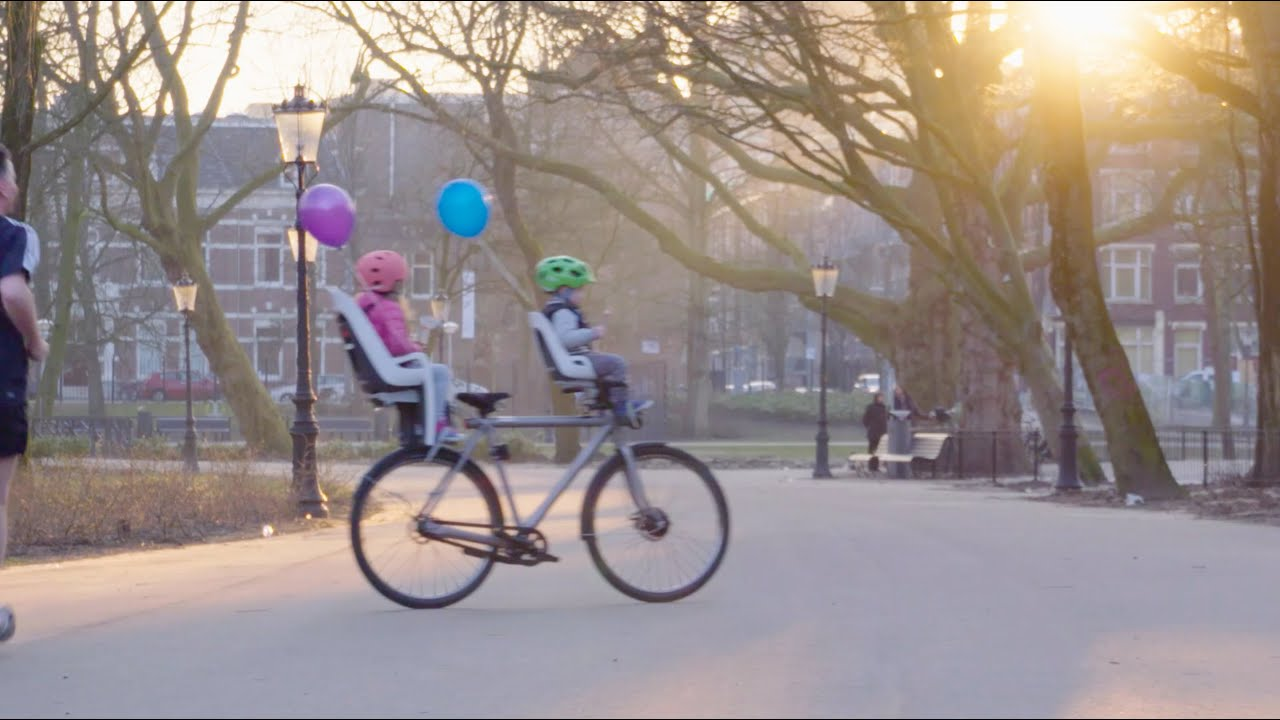 Introducing the self-driving bicycle in the Netherlands - YouTube