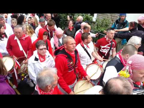 Padstow May Day Obby Oss 2016