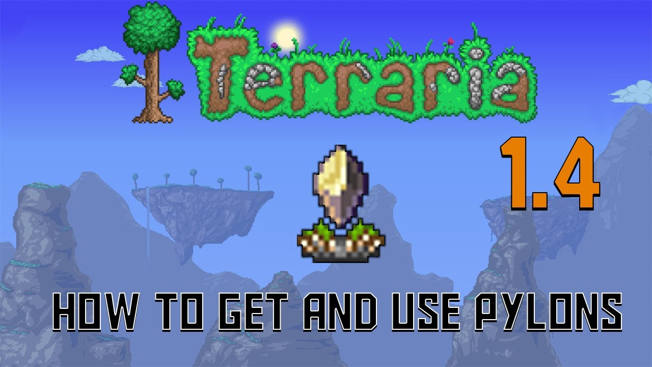 Terraria 1 4 How To Get And Use Pylons Quick Guide Youtube The teleporter is a travel mechanism purchased from the steampunker for 250. terraria 1 4 how to get and use pylons quick guide