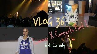 Vlog 36  Summer X Concerts PART I [Curren$y Show]