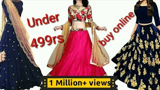 Lehenga Choli Under र 499 From Amazon /Amazon Lehenga Shopping /zetajj