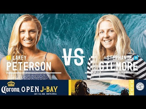 Lakey Peterson vs. Stephanie Gilmore - FINAL - Corona Open J-Bay - Women's 2018