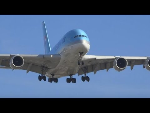 (HD)  50+ Landings (Many Heavy Jets) Los Angeles International Airport Plane Spotting