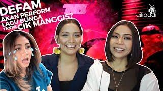 Gambar cover #SoPantas - DeFAM akan perform lagu BUNGA tanpa Cik Manggis? #AJL33