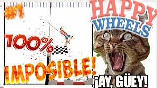 Happy Wheels #1- LO 100% IMPOSIBLE!! ~ #Dinamycsisreal