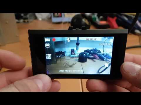 27$ Ultra-thin Car DVR 1080P HD Daschcam Menu Loop Recording Explanation