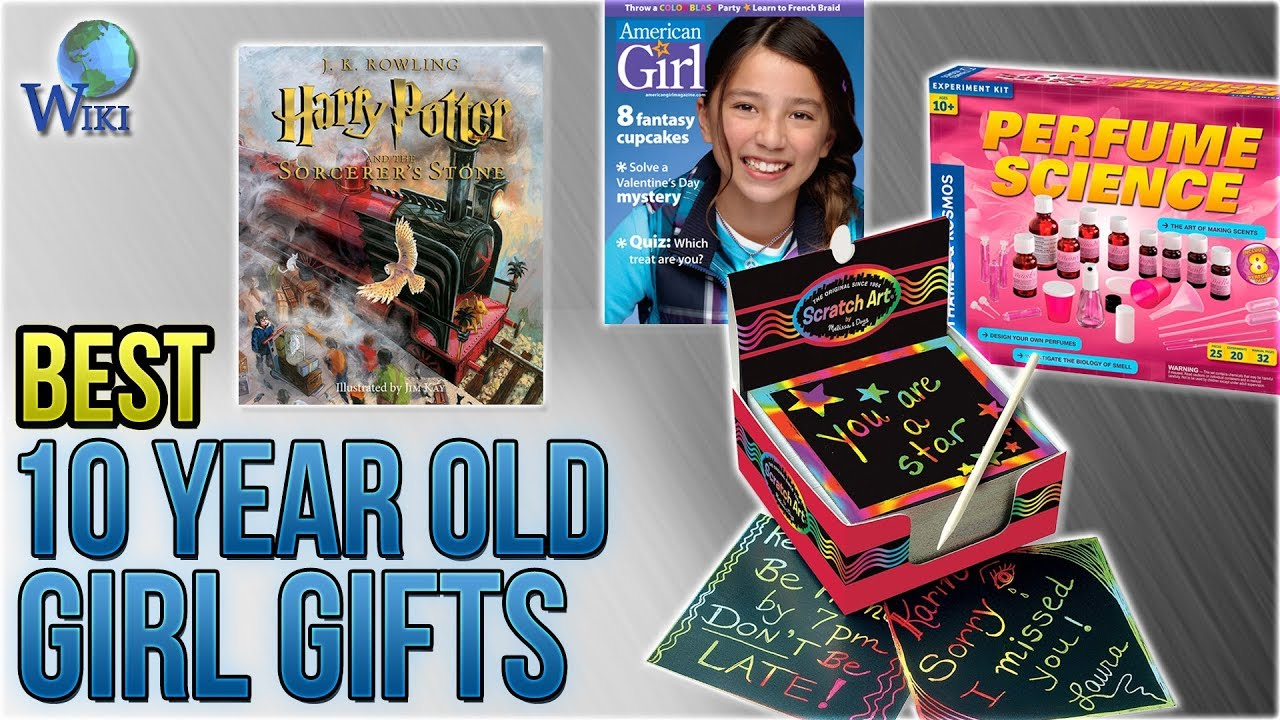 10 Best 10 Year Old Girl Gifts 2018 Youtube