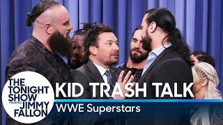 Download Kid Trash Talk with WWE Superstars Mp3 and Videos