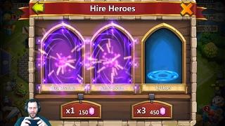 Fast Rolling 100,000 Gems Need 4 HeartBreakers Castle Clash