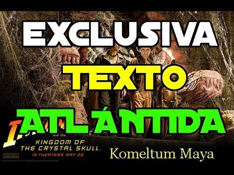 Komeltum, descubrimos asombroso texto Atlántida (describe pasado &futuro)