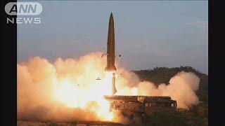 北朝鮮の飛翔体 日本政府 「弾道ミサイルと判断」(19/07/30)