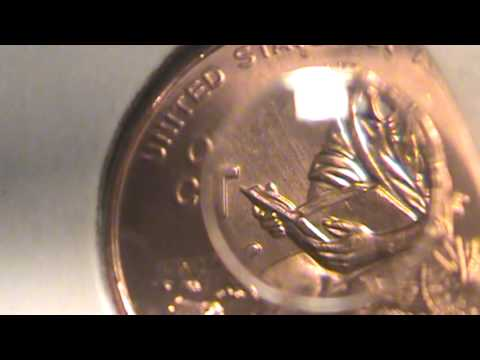 Penny With Jfk Face On It Kissing Presidents Coin Ki