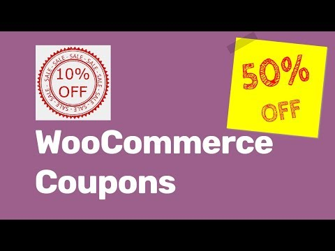 WooCommerce Coupons| Enable And Create Coupon Codes With WooCommerce 2019