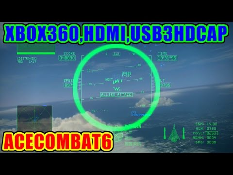 CFA-44(Nosferatu) - グレースメリア侵攻 - ACECOMBAT6 [HDMI,USB3HDCAP,StreamCatcher]