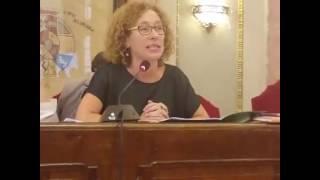 Debate del Estado del Municipio. Alicia Morales