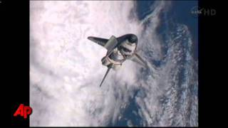 Raw Video: Last Shuttle Docking at ISS