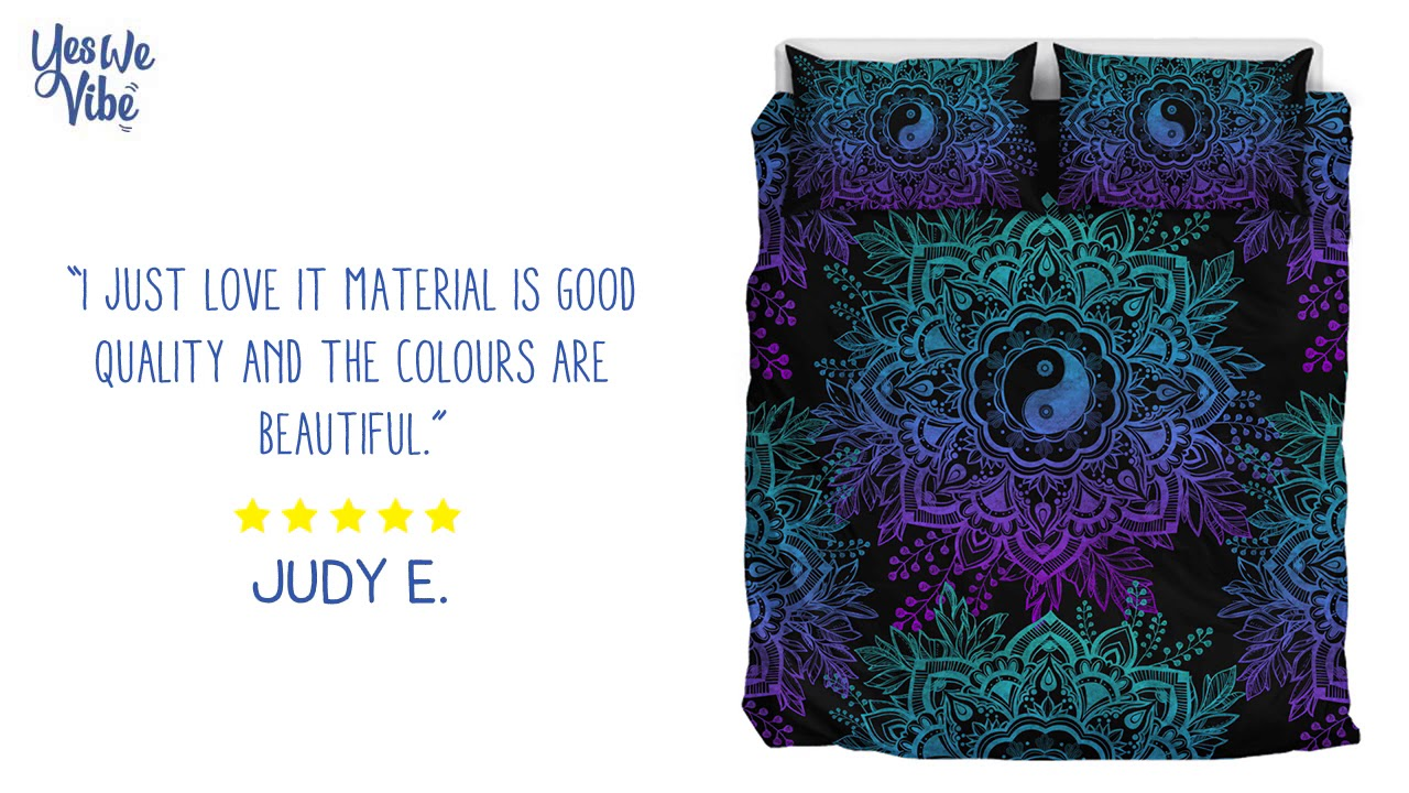 Yes We Vibe Bedding Customer Reviews