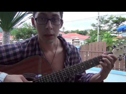 Изгиб гитары желтой (видеоурок гитара)
