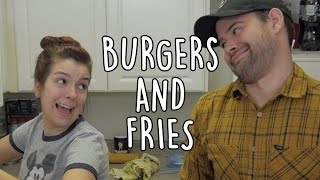Cover images Burgers and Fries with Jazzy (Vlogmas #7) | SoundProofLiz & JamesChats