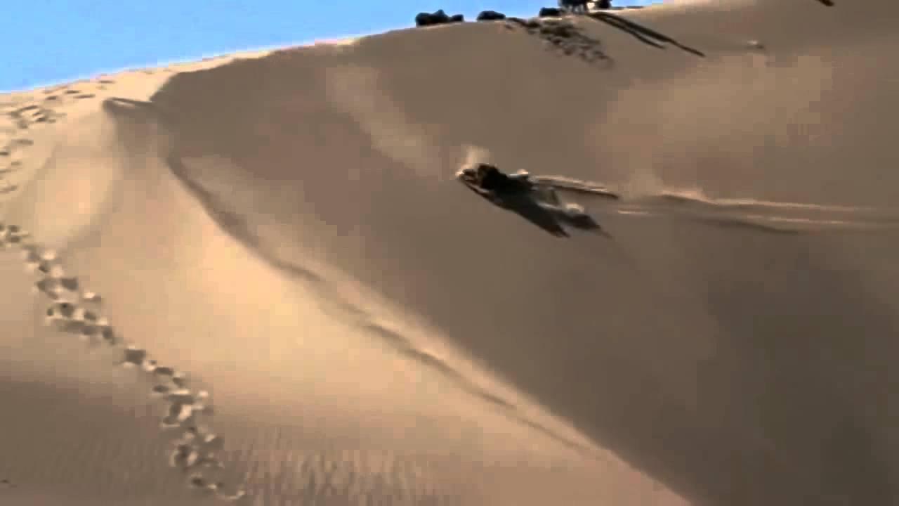 Sarlacc Sandboarding